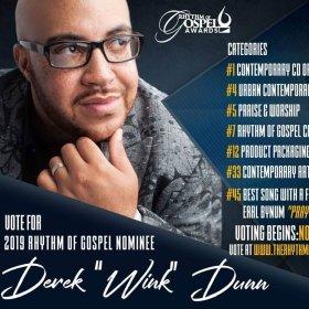Derek Dunn ROG Award Nominee